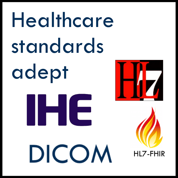 Healthcare standards adept